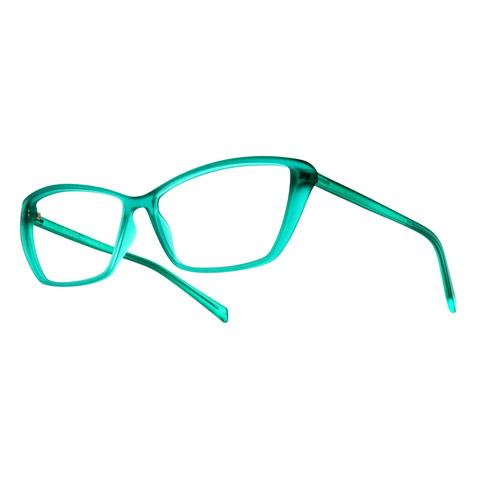 lightbox occhiali sfondo bianco